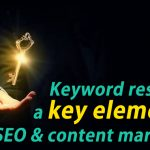 Keyword research: a key element of SEO & content marketing